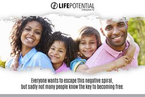 negative spirals in a family yield negative behavior