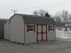 10x16 Wood High Wall Barn