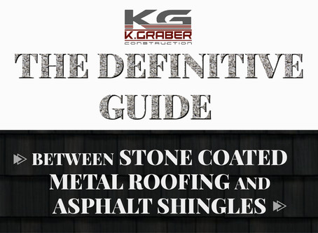 The Definitive Guide Between Stone Coated Metal Roofing and Asphalt Shingles