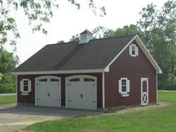 24x30 Wood Garage Attic Truss