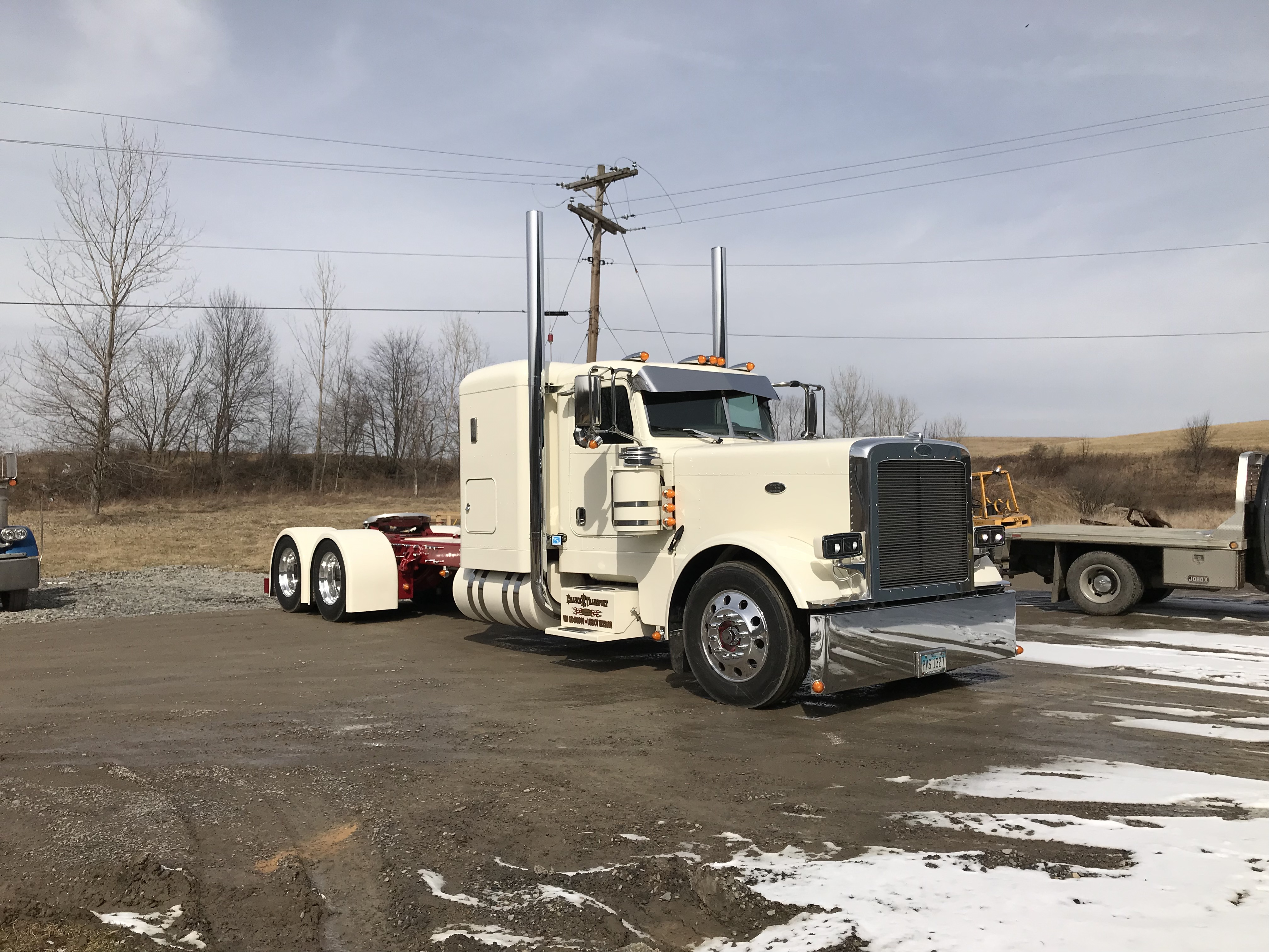 Semi Truck Painting