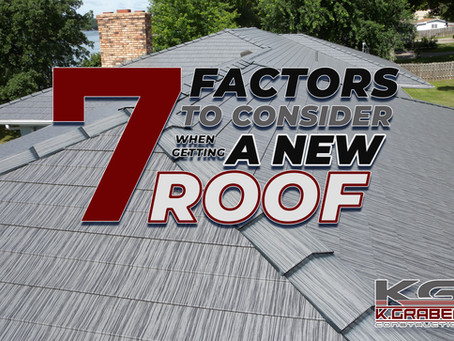 7 Factors to Consider in Getting a New Roof