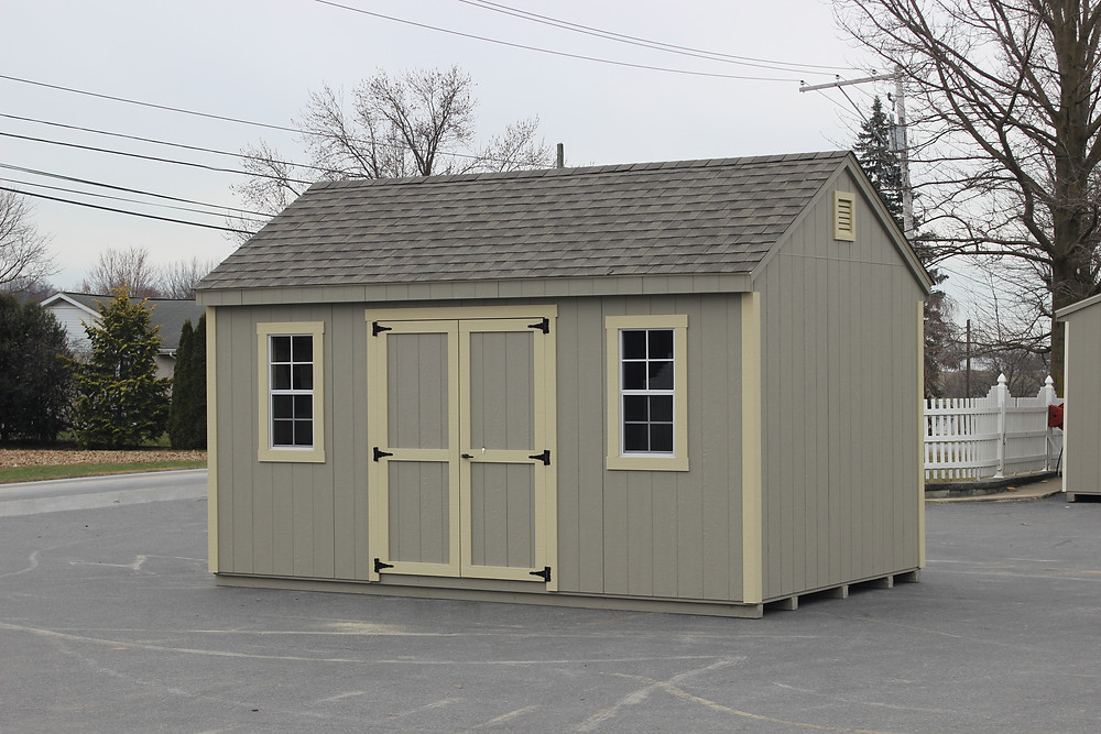 Amish built storage shed