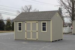 10x16 Wood Workshop Shed