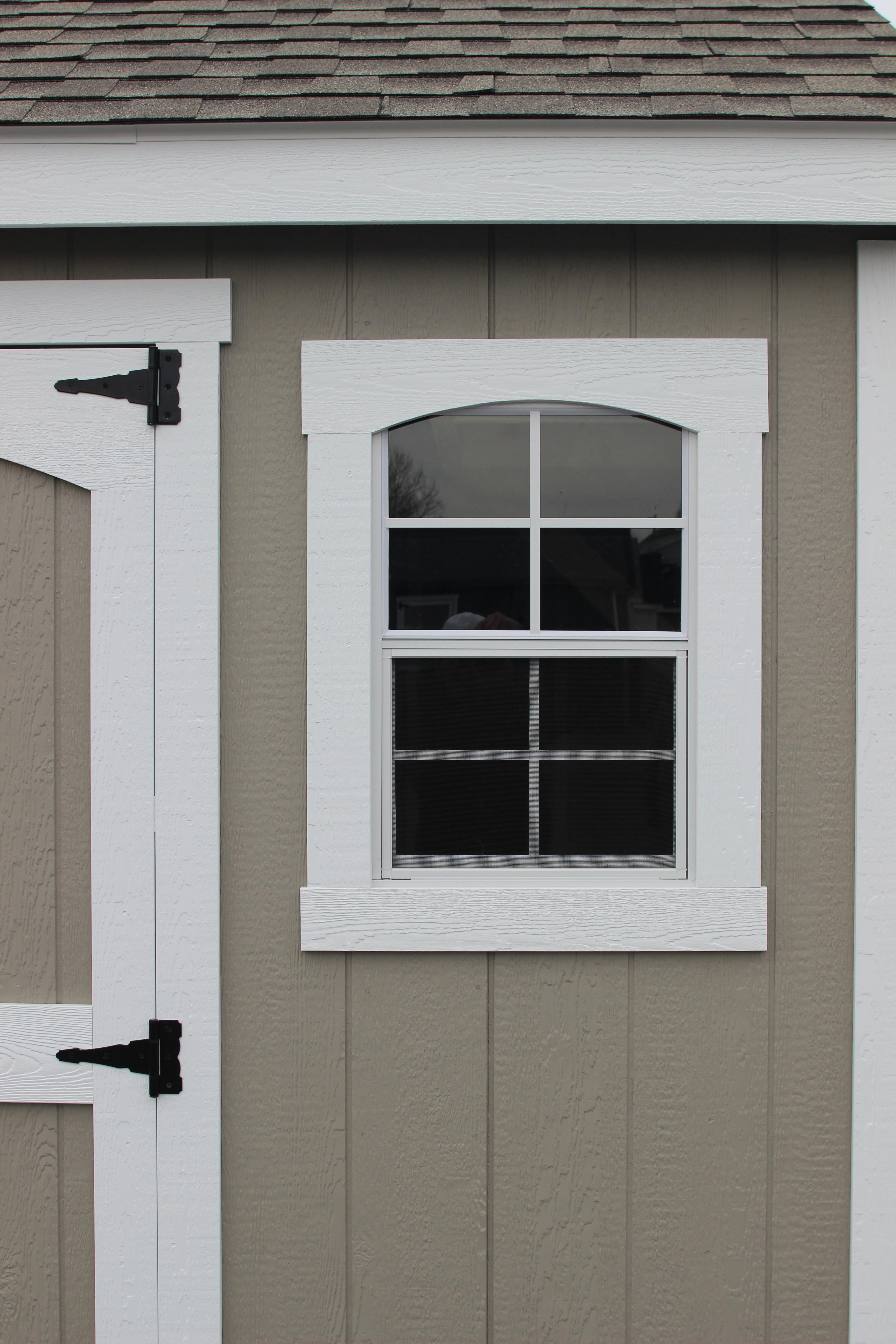 """2- 18x27"""" White Windows"""