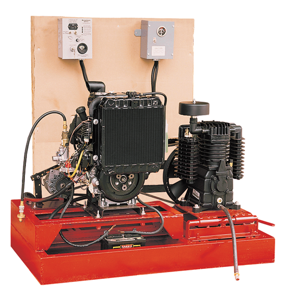 Air compressor for propane