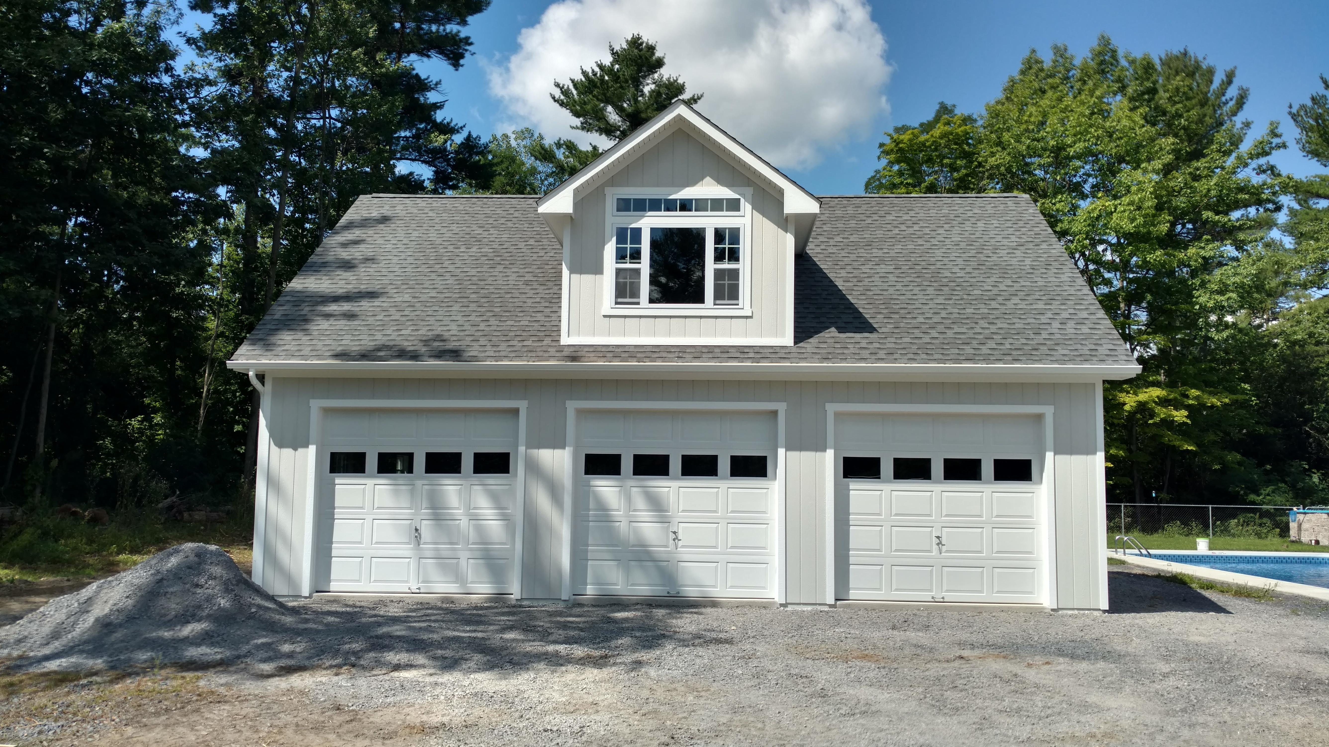 28x36 Wood Garage Empire Series