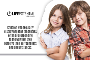 children respond to the way they perceive their surroundings