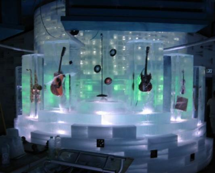Ice Pub on Jazz Festival in Eilat, Israe