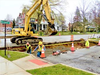 Michigan Street Upgrade