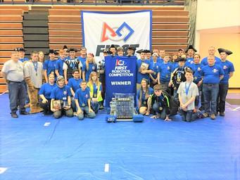 NPHS Robotics team wins district event