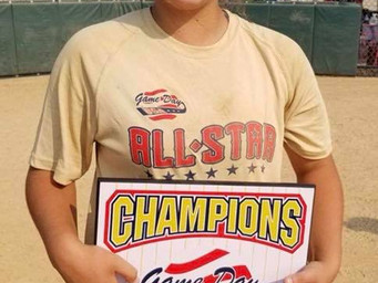 Local Softball Star Participates in Junior All-American Games