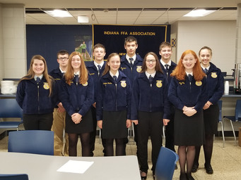 Busy Fall for New Prairie Agriculture/FFA
