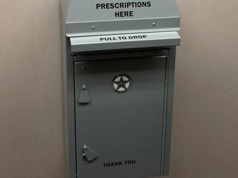 Police provide drug drop box