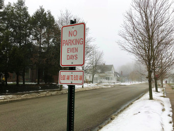 PARKING REGULATIONS TO ALLOW SNOW CLEARING