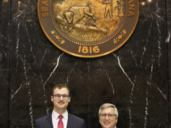 Local grad gains valuable experience with Rep. DeVon