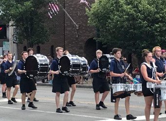 Busy Band Buzz: Parades