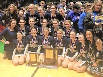 New Prairie Dance Team State Runner-Up