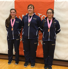New Prairie wrestlers compete at inaugural Girls State Finals