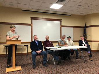 Five Candidates Seek Three Spots on Town Council