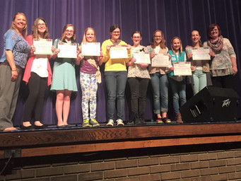 Girl Scout Recognition Ceremony