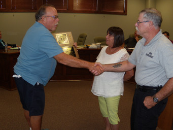 Town of New Carlisle Honors Jamie Middlebrook