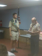 Troop 664's New Eagle Scout Announcement