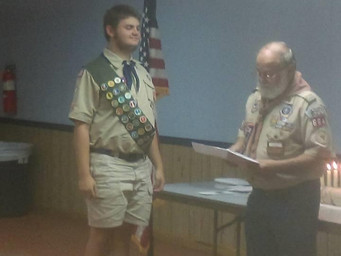 Troop 664's New Eagle Scout Announcement