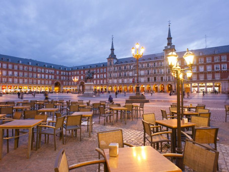 A guide to outdoor dinning in Madrid centro