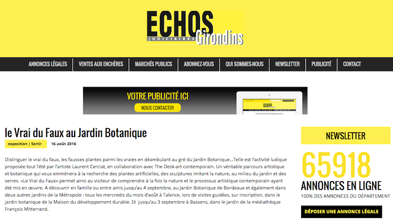Echos Girondins