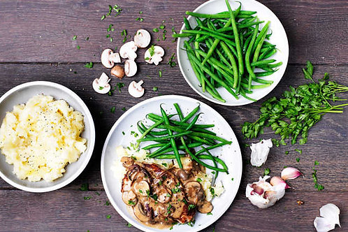 Garlic & Thyme Pork Steak