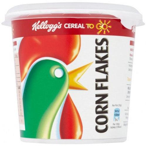 Kellogg's Corn Flakes pot