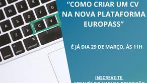 Queres saber como se faz um CV Europass na nova plataforma?