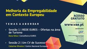 Volta de Apoio ao Emprego - 10/11, às 11h30 - Europass e Europe Direct de Coimbra