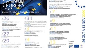 Workshop Europass -  III Academia Europa - dia 29/10, às 18h