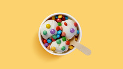 Ice Cream with Candy