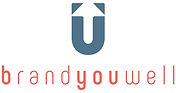 U letter, arrow, company name