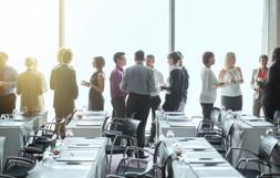 Conferência de negócios