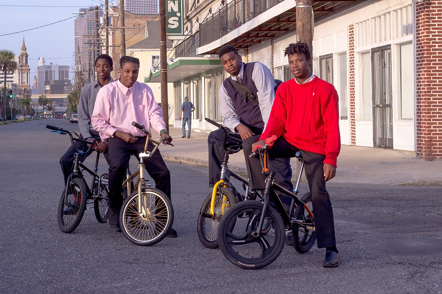 Tommy-Wyne-Darryl-Pernell-on-bikes-they-
