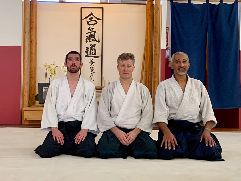 Seminar with Brinsley Sensei (Daiwa Aikido)