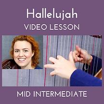 Hallelujah Mid Intermediate Video Lesson