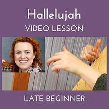 Hallelujah Late Beginner Video Lesson Th