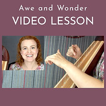 Learn Awe and Wonder on harp online