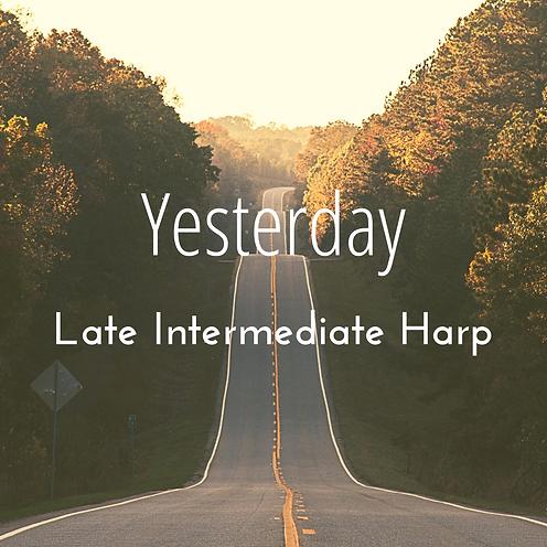 Yesterday thumbnail Late Intermediate.pn