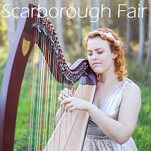 Harp Sheet Music - Scarborough Fair