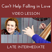 Can't Help Falling in Love video lesson