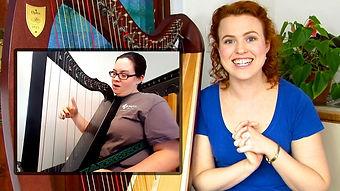 Harp teacher Christy-Lyn with Kayla.jpg