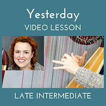 Yesterday Video Lesson thumbnail (Late I