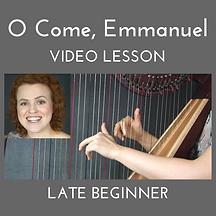 O Come Emmanuel Video Lessson Thumbnail.