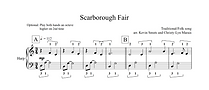 Scarborough Fair Sheet Music extract.png